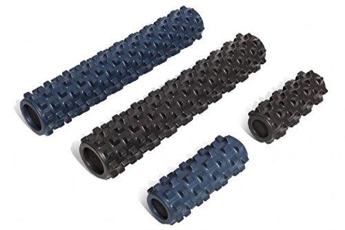 Great Features Of Rumble Roller - Textured Muscle Foam Roller Manipulates Soft Tissue Like A Massage...