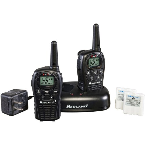 Best Prices! Midland LXT500VP3 22-Channel GMRS with 24-Mile Range