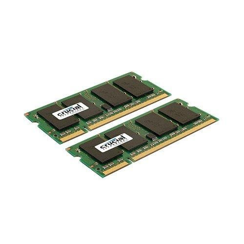 Crucial CT2C2G2S800MCEU - 4GB (2GBX2) DDR2-800 CL6 SODIMM - PC2-6400 200PIN FOR MAC