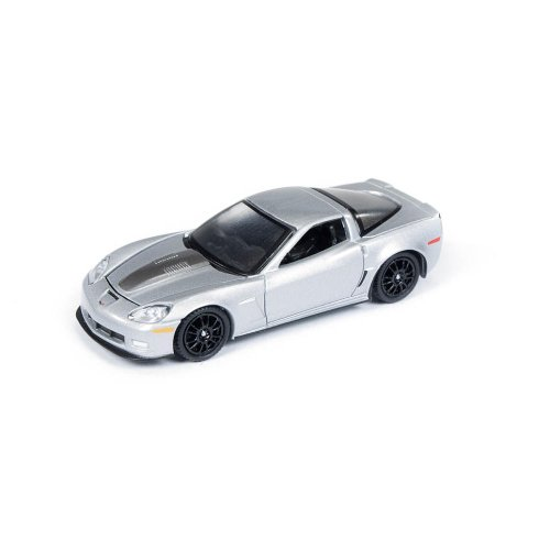 Auto World 1:64 Die Cast Vehicle - Licensed - Callaway Silver/Black
