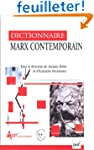 Dictionnaire Marx contemporain