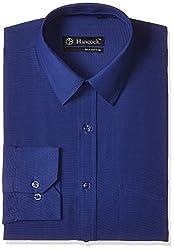 Hancock Men's Formal Shirt (9089Imperial Blue_38)