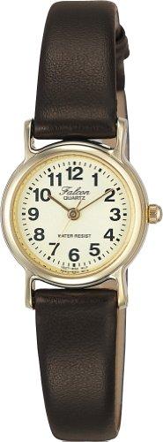 Citizen キューアンド queue CITIZEN Q&Q watch Falcon (Volcom) analog display beige VE07-850 ladies