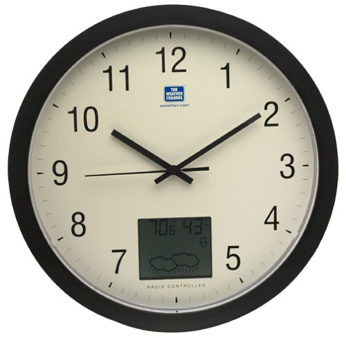La Crosse Technology Weather Channel WT-3131TWC Atomic Wall Clock with ForecastB0000CNZLY : image