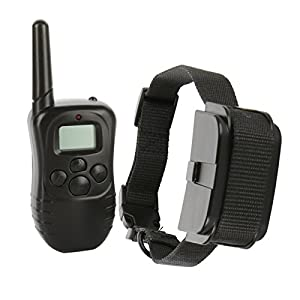 Petiner Remote Control Dog Training Collar with 100 Level Shock and Vibration