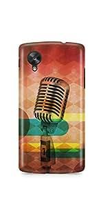 Casenation Mic Vibrant Filter LG Nexus 5 Matte Case