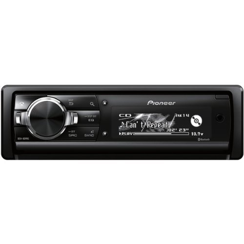 Pioneer Deh-80Prs Single-Din In-Dash Cd Receiver With Built-In Bluetooth[R]& Hd Radio[R]