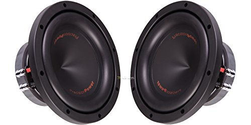 "New Pair Precision Power Bi.104 10"" 450 Rms Car Audio Subwoofers 4 Ohm Dvc"