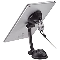 CTA Digital Suction Mount Stand with Theft Deterrent Lock for iPad, Tablets and SmartphonesÃ'  (PAD-SMT)