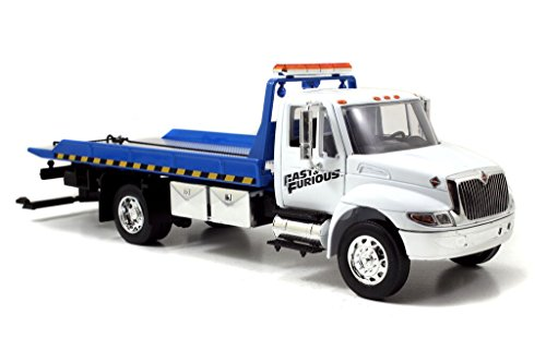 Jada Toys Fast & Furious Flatbed Tow Truck 1:24 Diecast Vehicle (Die Cast 1 24 Truck compare prices)