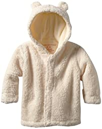 Magnificent Baby Unisex-Baby Infant Hooded Bear Jacket, Cream, 12-18 Months