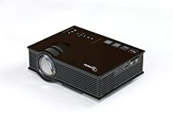 Taotaole Multimedia Mini Portable LCD LED Projection Home Cinema Theater Projector with HDMI USB VGA AV for Party,Home Entertainment Outdoor Camping by Taotaole