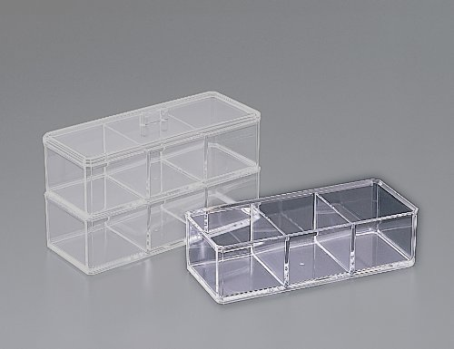 Stackable 3 Compartment Box W/O Lid