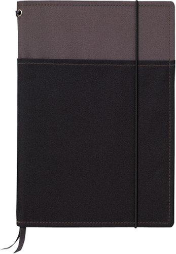 コクヨS&T カバーノート<SYSTEMIC>(システミック) 2冊収容タイプ A5 黒 A罫 40枚 ノ-655A-1