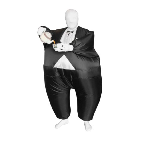 Morphsuits Mega Morph, Black/White, One Size