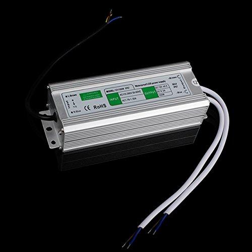 BAODE 10-200W DC-12V LED Transformator Trafo. Netzteil Adapter Driver für Stripe (100W/8.5A 8007)
