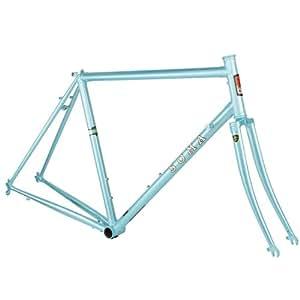 Amazon.com : Soma San Marcos Pearl Blue 51cm Frameset : Cycle Frames