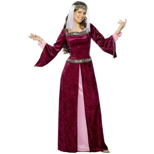 Maid Marion Costume - Large - Dress Size 14-16