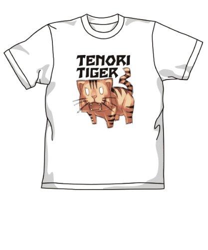 とらドラ! 手乗りタイガーTシャツ ホワイト サイズ:L
