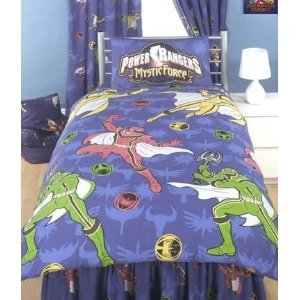 power rangers duvet cover and pillowcase operation overdrive 3 rotary