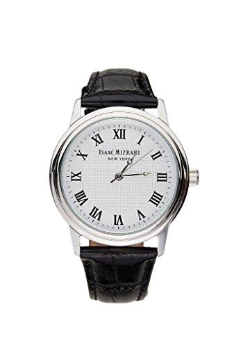 Round Vintage Case Watch in Black