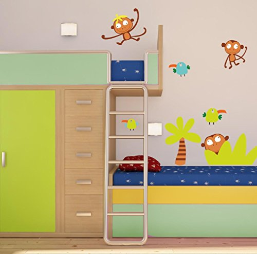 Pegatinas para pared en la gu a de compras para la familia for Pegatinas dormitorio