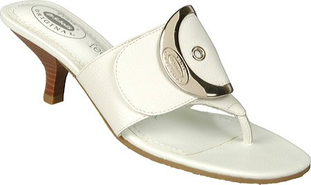Dr. Scholl's Original Women's Zodiac (White Leather 9.0 M)