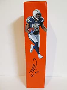 Antonio Gates Autographed Signed Custom San Diego Chargers Photo Football End Zone... by Southwestconnection-Memorabilia