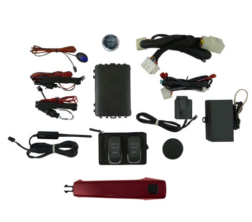 Click to buy EasyGO AM-GMT-301N Smart Key Remote Start and Alarm System with Red Jewel Door Handle - From only $639
