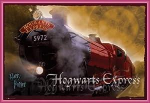 Harry Potter Poster et Cadre (Plastique) - Poudlard Express 5972 (91 x 61cm)