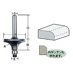 ライト精機 トリマー・ルータービット TR-17 呼称 1分 商品名称 ボーズ面(コロ付)(トリマ用)