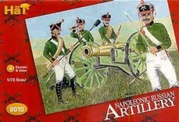 Hat Figures - Napoleonic Russian Artillery - HAT8010