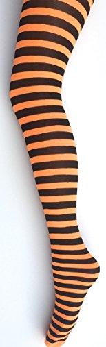 mysasi-london-ladies-striped-tights-9-colours-available-black-and-orange-medium