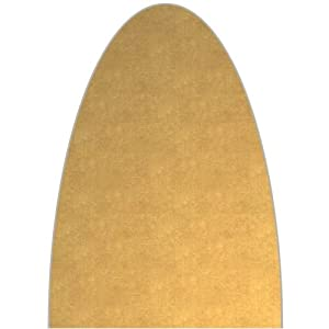 ironing board cover gold color