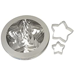 Ateco 10-Piece Stainless Steel Star Cutter Set