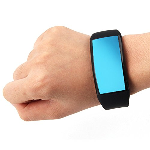 S5H9J2 Vakind® 8GB New Multifunctional 3D Pedometer Touch Screen Smart Watch USB Flash Drive LED Display Bracelet Wristband (Black)