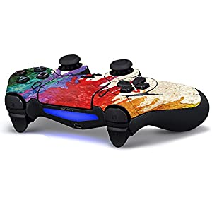 Pandaren controller skin sticker faceplates for PS4 controller x 1(Paints)