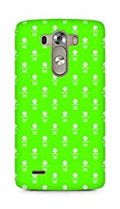 Amez designer printed 3d premium high quality back case cover for LG G3 (Volleyball Pattern2)