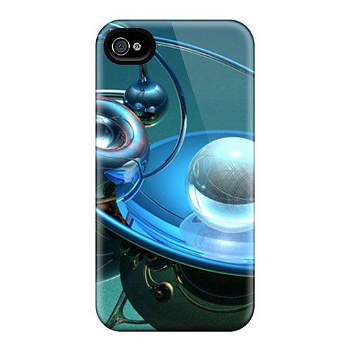 Iphone 4/4S Case, Premium Protective Case With Awesome Look - Telescope