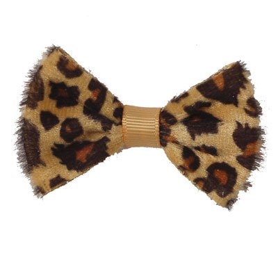 Boutique Baby Girl Accessory Grosgrain CLIPPIE LEOPARD Hair Bow