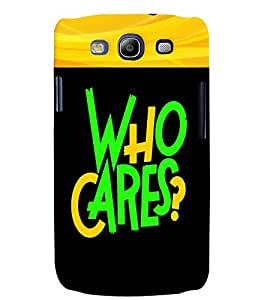 Fuson 3D Printed Quotes Designer back case cover for Samsung Galaxy S3 Neo - D4343