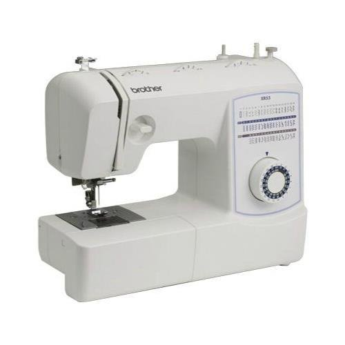 Brother Xr53 Electric Sewing Machine, 53 Built-In Stitches, Lightweight, Built-In Light, Accessory Storage