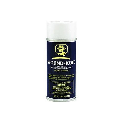 FARNAM 30401 Aerosol Wound Kote Pet Oinment, 5-Ounce dr emmo s wound care wash 8 ounce