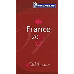 Guide Michelin France 2007