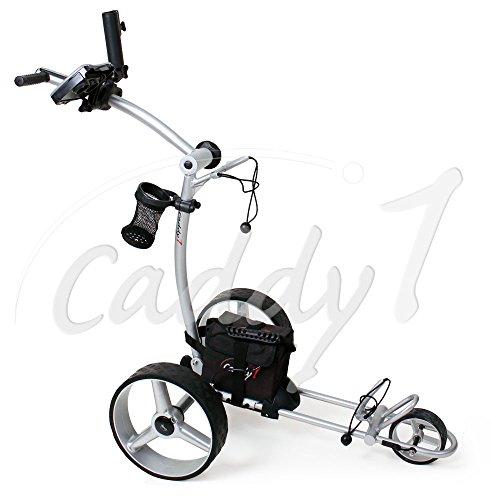 Elektro Golf Trolley CADDYONE 600 mit Lithium-Akku, 300W, 20Ah-Akku