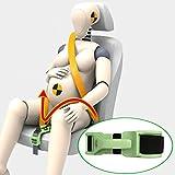 ZUWIT バンプベルト、妊婦用シートベルトの緒節装置、母のおなかに快適で安全、胎児を守る、妊婦を予定している母に必要