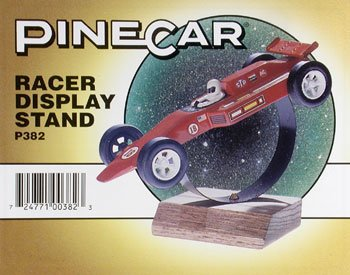 PineCar Derby Racers Racer Display Stand - 1