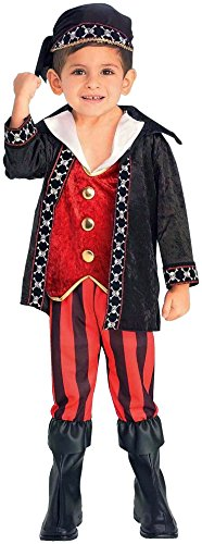 Forum Novelties Lil Buccaneer Pirate Child Costume, Toddler (Holloween Pirate Costumes)