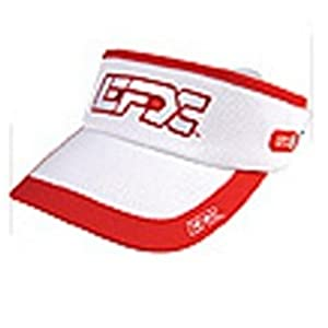 Buy EFX Headsweats Visor- White Red by EFX Wearables