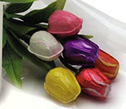 Tulip Bouquet Semi Solid Milk Chocolate (1/2 Doz)